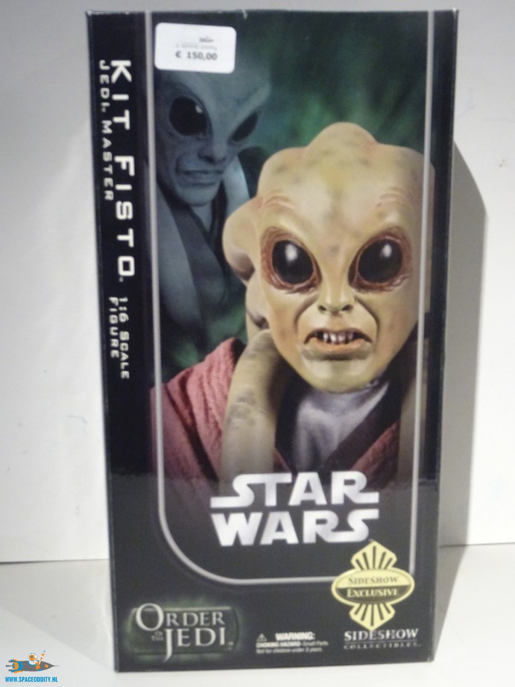 Star Wars Kit Fisto 1 6 Scale Action Figure Webshop A Space Oddity Tv Filmspeelgoed Amsterdam Action Figure Toy Store