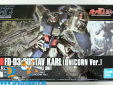 Gundam Universal Century 221 FD Gustav Karl ( Unicorn Ver. )
