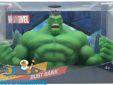 Action figures store Amsterdam Marvel spaarpot Hulk