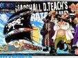 One Piece bouwpakket Marshall D Teach's