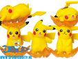 Pokemon nosechara Pikachu blind box figuurtje