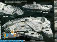 Star Wars bouwpakket Millenium Falcon (The Rise Of Skywalker) 1/144 schaal