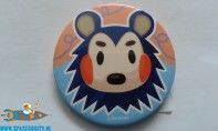 Animal Crossing button Mabel