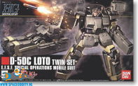 Gundam Universal Century 106 D-50C Loto Twin Set