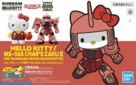 Gundam SD Gundam Ex-Standard Hello Kitty / Char's Zaku II