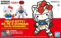 nederland, anime, winkel, Gundam SD Gundam Ex-Standard Hello Kitty / RX-78-2