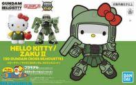 Gundam SD Gundam Ex-Standard Hello Kitty / Zaku II