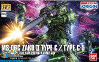 Gundam The Origin 016 MS-04 MS-06C Zaku II Type C / Type C-5