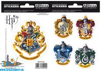 Harry Potter stickers Hogwarts Houses