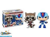 Pop! Games Marvel Gamer Verse Rocket vs. Mega Man X