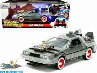 Back to the Future 3 Delorean Time Machine 1/24 scale die cast model met licht