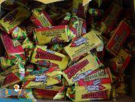 Thunderbirds 1992 doos vol met snoepjes (chews)