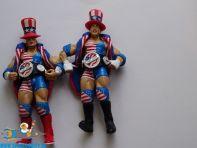 WWE actiefiguren met stars & stripes outfit