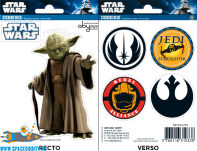 Star Wars stickers Yoda