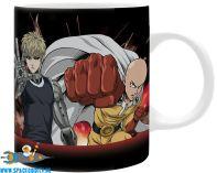 One Punch Man beker/mok Saitama & Genos