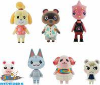 Animal Crossing New Horizon friend doll set van 7 figuurtjes