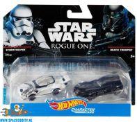 Star Wars Stormtrooper & Death Trooper Hot Wheels die cast models
