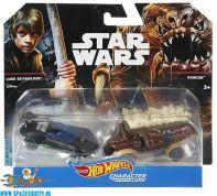 Star Wars Luke Skywalker & Rancor Hot Wheels