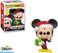 Pop! Disney Mickey Mouse vinyl figuur Holiday Mickey