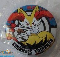 Pokemon button XYZ Braixen