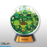 Animal Crossing New Leaf gashapon Snowglobe DJ K.K. Slider