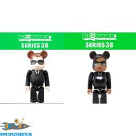 Bearbrick series 38 Men in Black set van 2