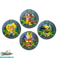 Crash Bandicoot 3D coasters