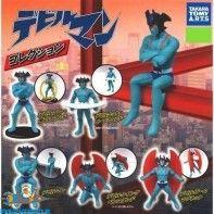 Devilman gashapon set van 5 figuurtjes