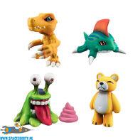 Digimon Capsule Collection 1.0 set van 4 figuurtjes
