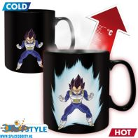 Dragon Ball Z beker/mok heat change Vegeta