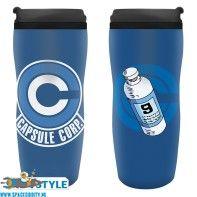 Dragon Ball Z travel mug Capsule Corp
