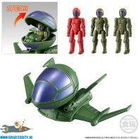 Gundam Micro Wars vol. 3 trading figuur Dopp & Pilot