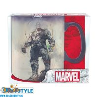Marvel Avengers beker/mok heat change Thanos van keramiek