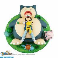 Pokemon G.E.M. series Snorlax good night pvc statue