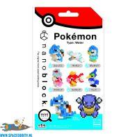 Pokemon Nanoblock Mini blindbag serie Watertype space oddity amsterdam