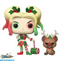 Pop! DC Super Heroes Harley Quinn with helper bobble head figuur
