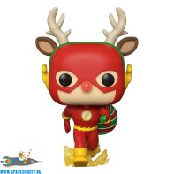 Pop! DC Super Heroes The Flash Holiday Dash bobble head figuur