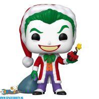 Pop! DC Super Heroes The Joker as Santa (holiday) bobble head figuur
