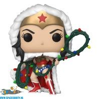 Pop! DC Super Heroes Wonder Woman with string light lasso bobble head figuur