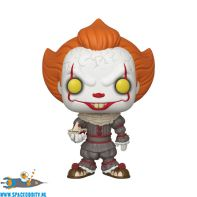 Pop! Movies IT Pennywise with boat super sized vinyl figuur 25 cm
