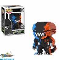 Pop! movies vinyl figuur 8-bit Alien / Xenomorph