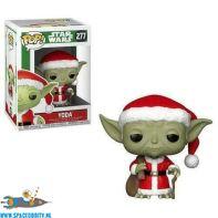 te koop-geek-nerd-winkel-amsterdam-Pop! Star Wars Holiday bobble head Santa Yoda