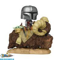 Pop! Star Wars The Mandalorian bobble head The Mandalorian & The Child on Bantha