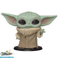 Pop! Star Wars The Mandalorian vinyl figuur The Child super sized edition