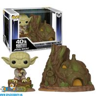 Amsterdam, funko, toy, store, Pop! Town Dagabah Yoda with Hut bobble head