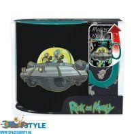 Rick and Morty beker / mok heat change spaceship