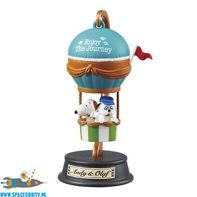Snoopy Re-Ment Balloon Journey Andy & Olaf