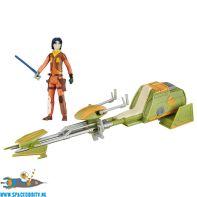 Star Wars Ezra Bridger's Speeder & Ezra Bridger actiefiguur