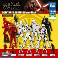 Star Wars First Order Desktop mini figuren set van 7
