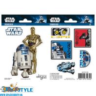 Star Wars stickers R2-D2 & C3PO